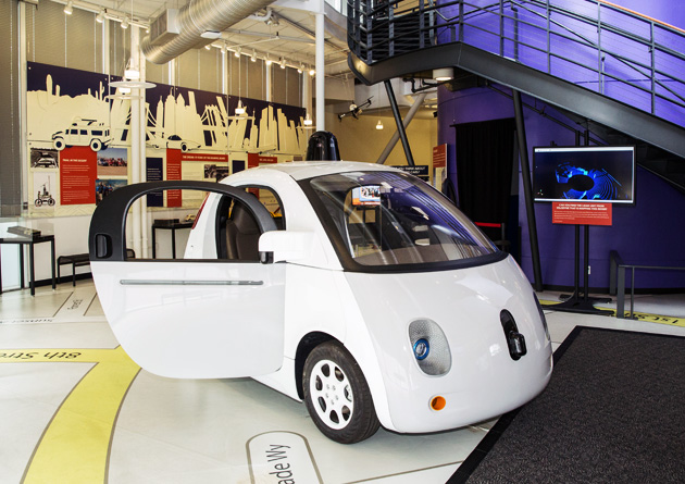 Visit Us Self-driving Car