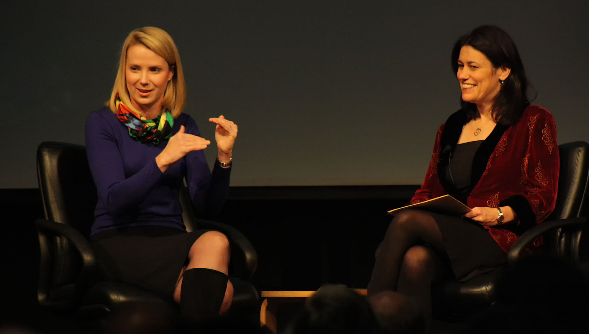 Marissa Mayer talks Google culture, early mentors, and engineering at Stanford University.