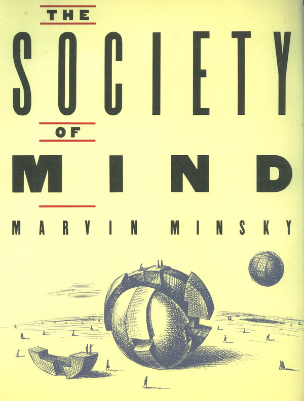 Cover of The Society of Mind, 1986