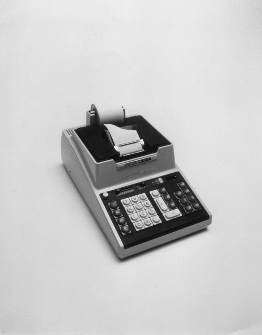 Busicom calculator, 1971