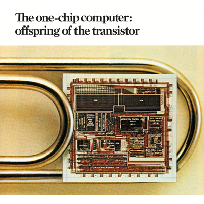 1974 general purpose microcontroller family is announced